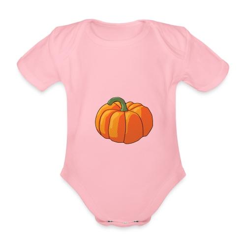 Pumpkin - Body ecologico per neonato a manica corta