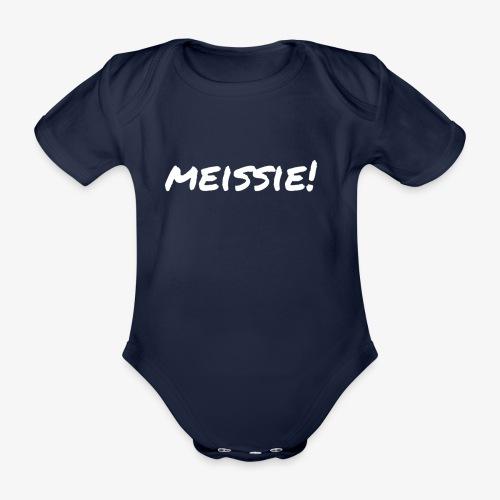 meissie - Baby bio-rompertje met korte mouwen