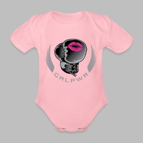 Girl Power - Baby Bio-Kurzarm-Body