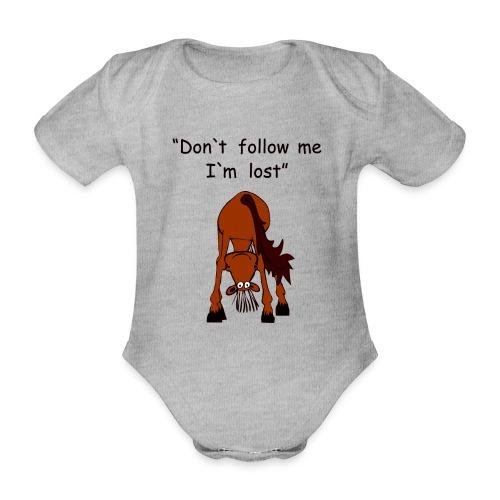 lost - Baby Bio-Kurzarm-Body