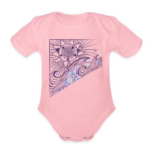 Wave - Baby Bio-Kurzarm-Body