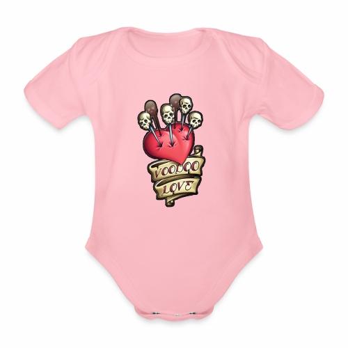 AMOR VOODOO - Body orgánico de maga corta para bebé