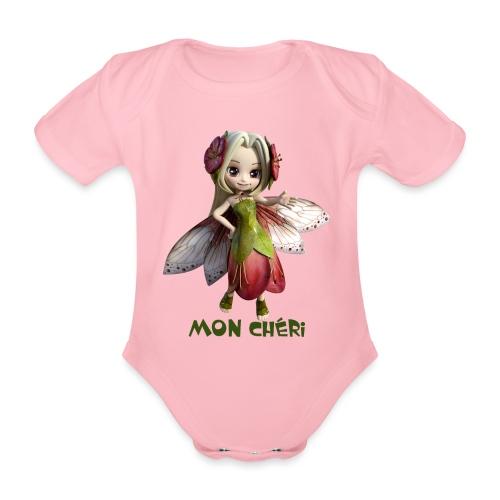 Mon Cheri 2 - Fairy - Baby Bio-Kurzarm-Body