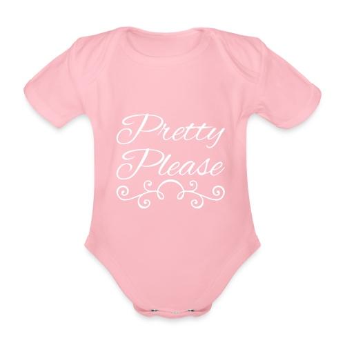 Pretty Please - Organic Short-sleeved Baby Bodysuit