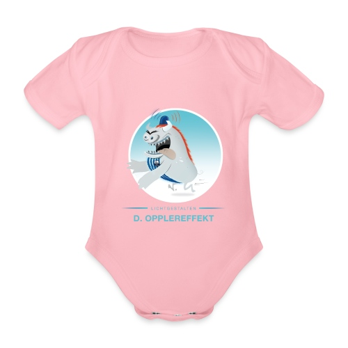 D. Opplereffekt - Baby Bio-Kurzarm-Body