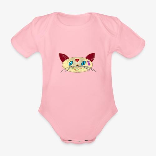 GATO PAOART - Body orgánico de manga corta para bebé