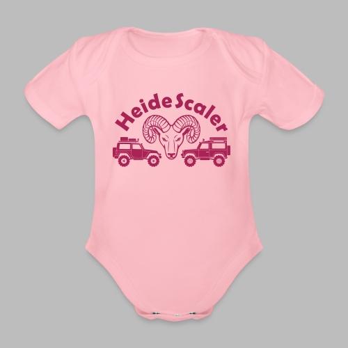 Heide Scaler - Baby Bio-Kurzarm-Body