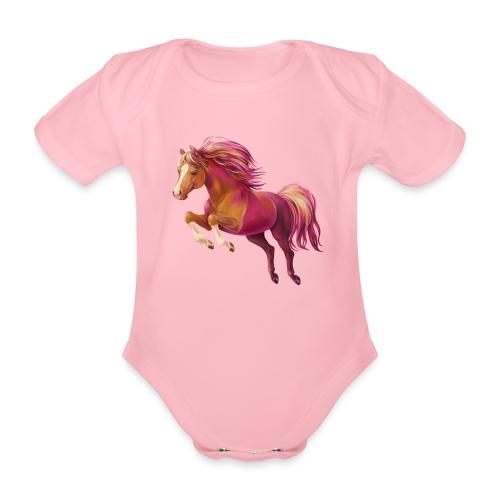 Cory the Pony - Baby Bio-Kurzarm-Body
