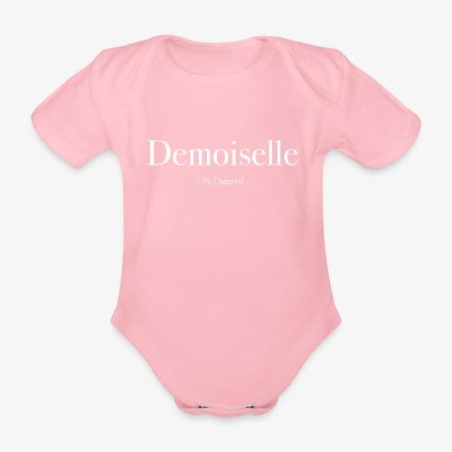 Demoiselle - Body Bébé bio manches courtes
