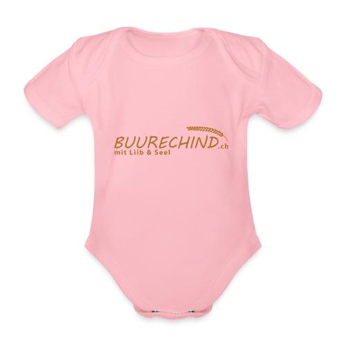 Buurechind.ch - Kollektion - Baby Bio-Kurzarm-Body