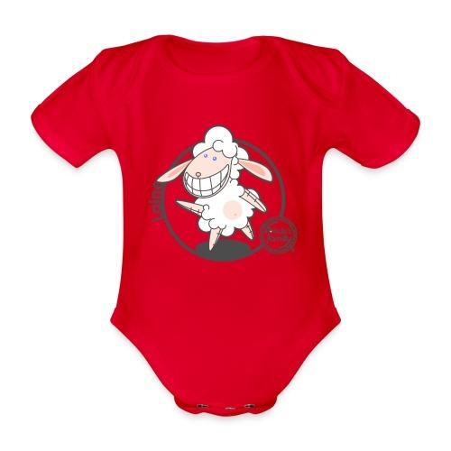 FF WOLLE 01 - Baby Bio-Kurzarm-Body