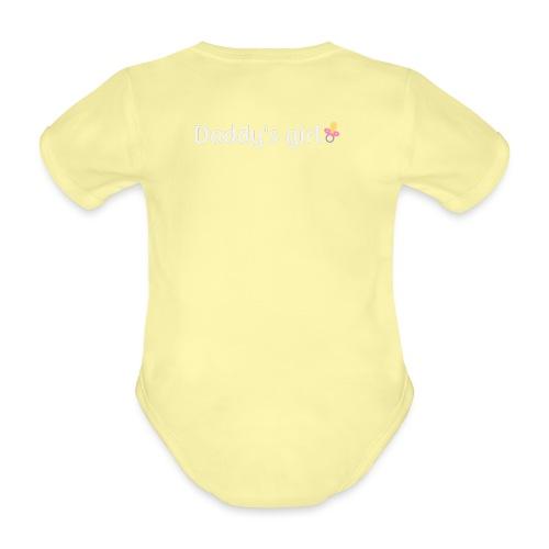 Daddy's girl - Organic Short-sleeved Baby Bodysuit