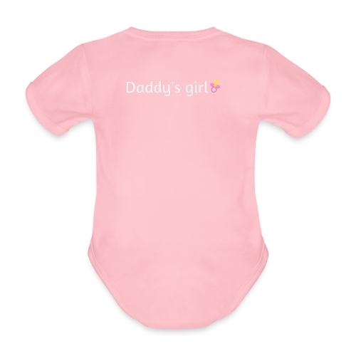 Daddy's girl - Organic Short-sleeved Baby Bodysuit