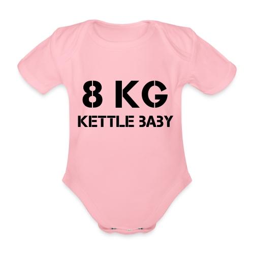Kettlebaby 8kg - Ekologisk kortärmad babybody