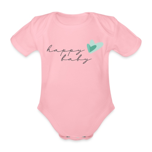 Yoga Happy Baby - Baby Bio-Kurzarm-Body