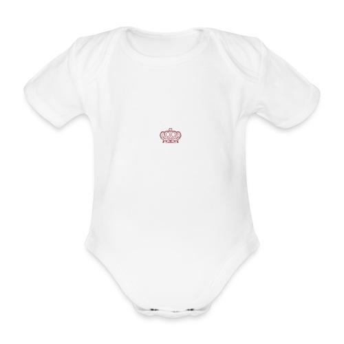 AMMM Crown - Organic Short-sleeved Baby Bodysuit