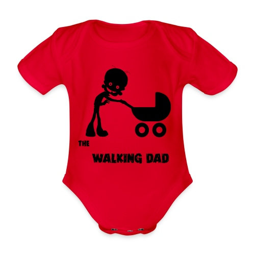 WALKING DAD - Body Bébé bio manches courtes