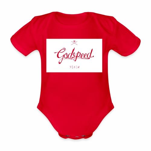 godspeed - Vauvan lyhythihainen luomu-body