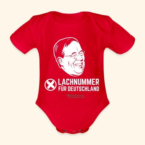 Lachnummer für Deutschland - Baby Bio-Kurzarm-Body