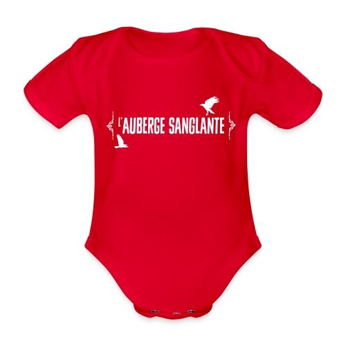 L'auberge Sanglante - Body Bébé bio manches courtes
