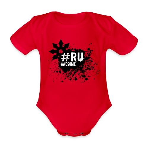 #RU - Shuriken - Baby bio-rompertje met korte mouwen