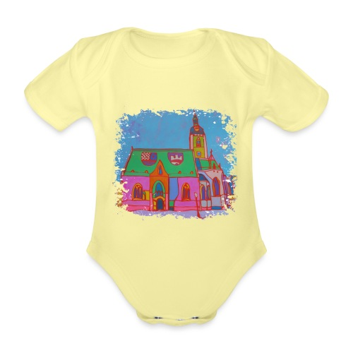 Zagreb - Baby Bio-Kurzarm-Body