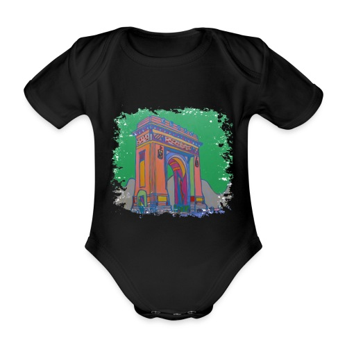 Bukarest - Baby Bio-Kurzarm-Body