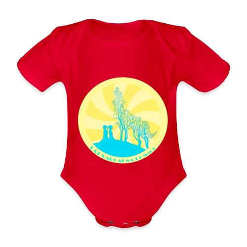 Låt vargarna komma - Ekologisk kortärmad babybody