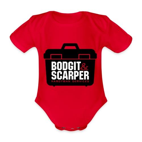 Bodgit & Scarper - Organic Short-sleeved Baby Bodysuit