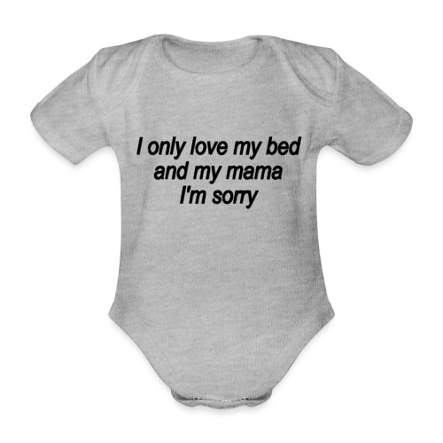 imsry - Baby Bio-Kurzarm-Body