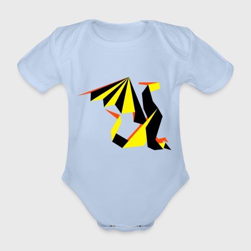 Dragon Origami - Body Bébé bio manches courtes