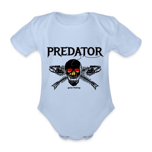 predator fishing / gone fishing - Baby Bio-Kurzarm-Body