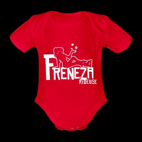 Freneza rideuse - Body Bébé bio manches courtes