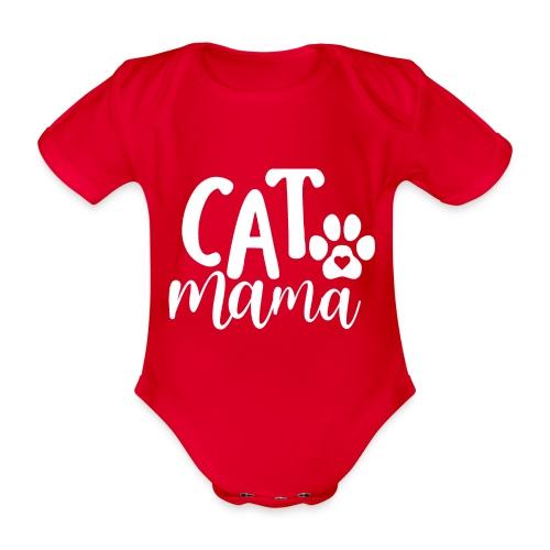 CAT MAMA - Body Bébé bio manches courtes