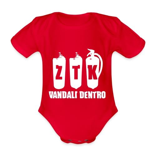 ZTK Vandali Dentro Morphing 1 - Organic Short-sleeved Baby Bodysuit