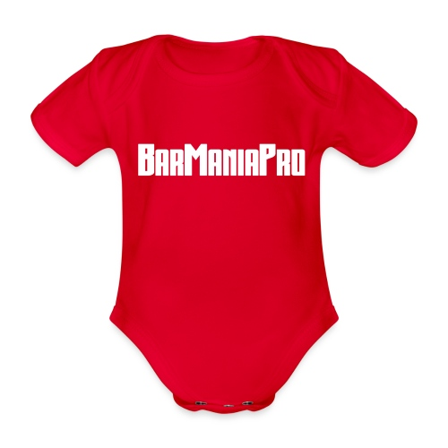 BarManiaPro - Organic Short-sleeved Baby Bodysuit