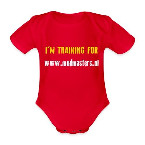 tshirt back - Baby bio-rompertje met korte mouwen