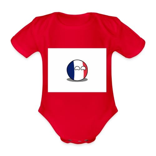 France Simple - Body Bébé bio manches courtes