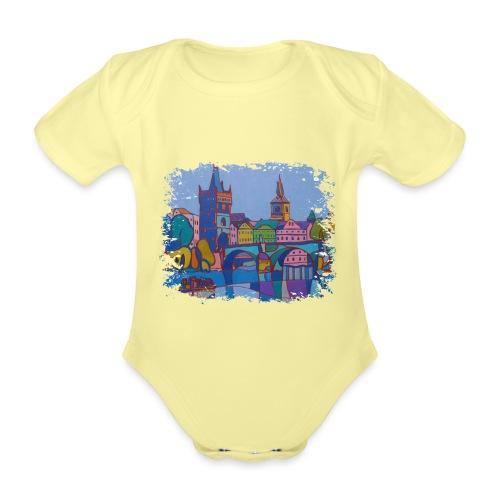 Prag - Baby Bio-Kurzarm-Body