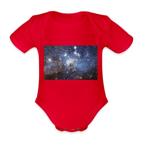 Starsinthesky - Organic Short-sleeved Baby Bodysuit