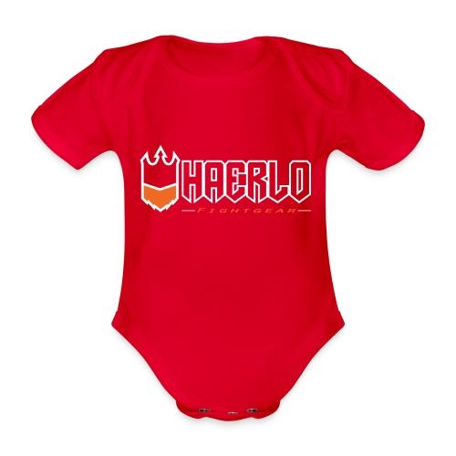 haerlo final - Baby bio-rompertje met korte mouwen