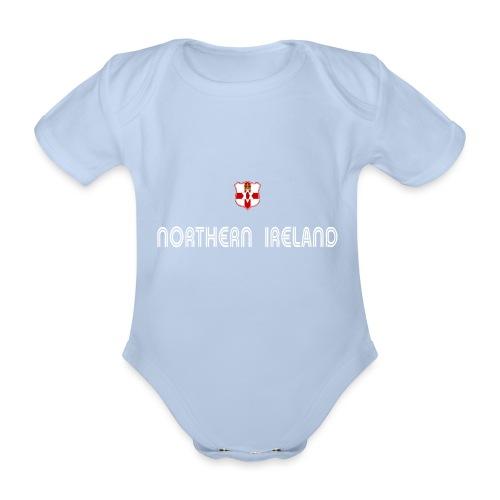 N I shield - Organic Short-sleeved Baby Bodysuit