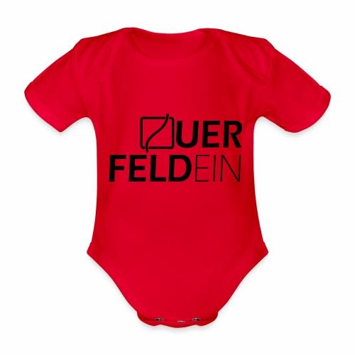 Querfeldein Logo - Baby Bio-Kurzarm-Body