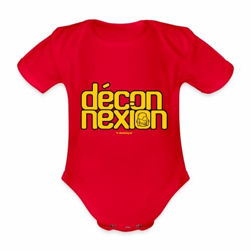Déconnexion - Baby bio-rompertje met korte mouwen