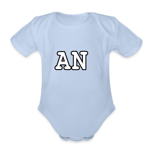 Alicia niven Merch - Organic Short-sleeved Baby Bodysuit