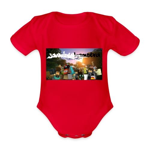 6057231244D88B5F5DED63C6F58FB0122038CBC7A63A50B55 - Organic Short-sleeved Baby Bodysuit