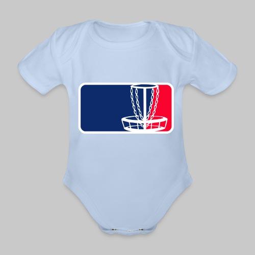 Disc golf - Vauvan lyhythihainen luomu-body
