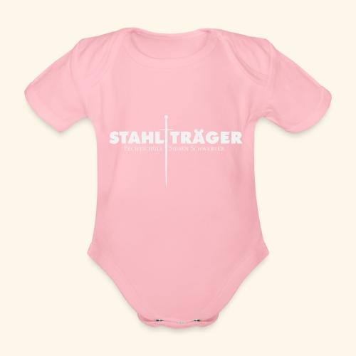 Stahlträger - Baby Bio-Kurzarm-Body