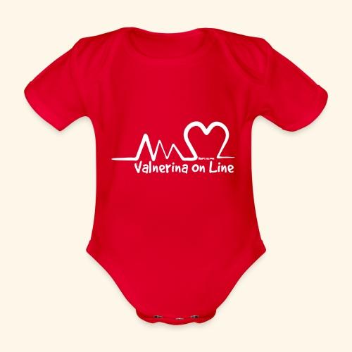 Valnerina On line APS maglie, felpe e accessori - Body ecologico per neonato a manica corta