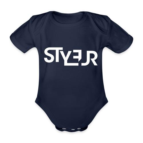 styleur logo spreadhsirt - Baby Bio-Kurzarm-Body